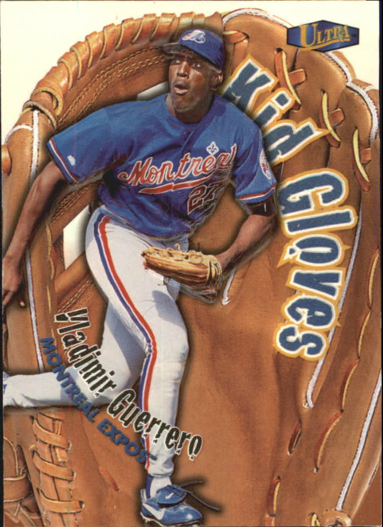 1998 Ultra Kid Gloves #12 Vladimir Guerrero