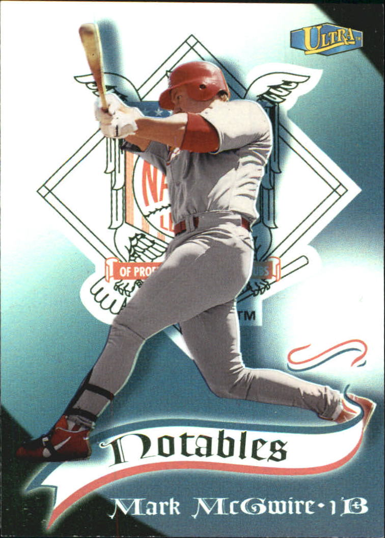 1998 Ultra Notables #7 Mark McGwire