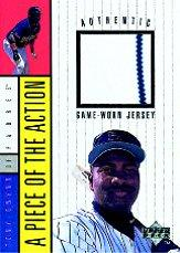 1998 Upper Deck A Piece of the Action 1 #3 Tony Gwynn Jersey