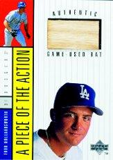 1998 Upper Deck A Piece of the Action 1 #4 Todd Hollandsworth Bat