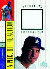 1998 Upper Deck A Piece of the Action 1 #5 Todd Hollandsworth Jersey