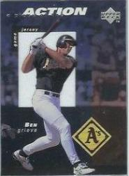 1998 Upper Deck A Piece of the Action 3 #BG Ben Grieve/200