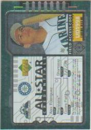 1998 Upper Deck All-Star Credentials #AS15 Alex Rodriguez