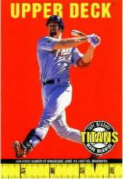 1998 Upper Deck Tape Measure Titans #1 Mark McGwire