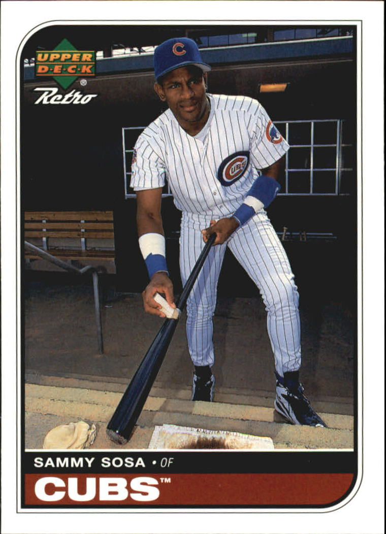 1998 Upper Deck Retro #19 Sammy Sosa