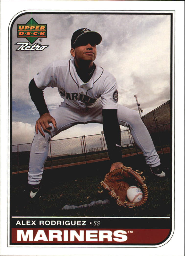 1998 Upper Deck Retro #92 Alex Rodriguez