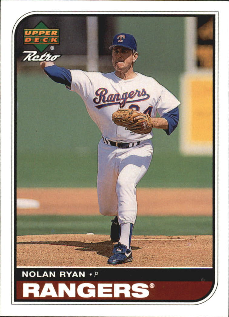 1998 Upper Deck Retro #97 Nolan Ryan