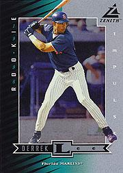 1998 Zenith 5 x 7 Impulse #73 Derrek Lee