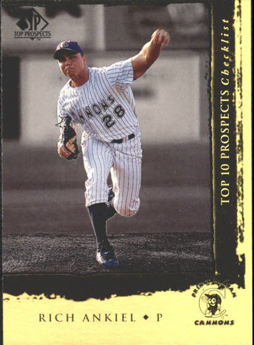 1999 SP Top Prospects #4 Rick Ankiel T10