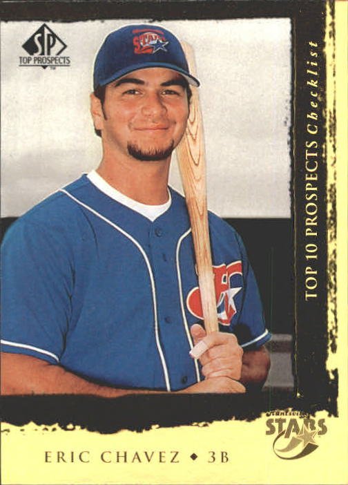 1999 SP Top Prospects #6 Eric Chavez T10