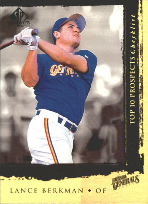 1999 SP Top Prospects #7 Lance Berkman T10