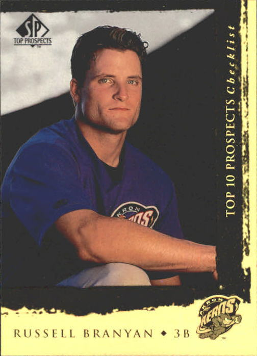 1999 SP Top Prospects #8 Russell Branyan T10