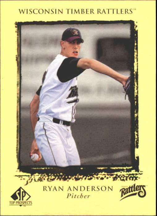 1999 SP Top Prospects #12 Ryan Anderson