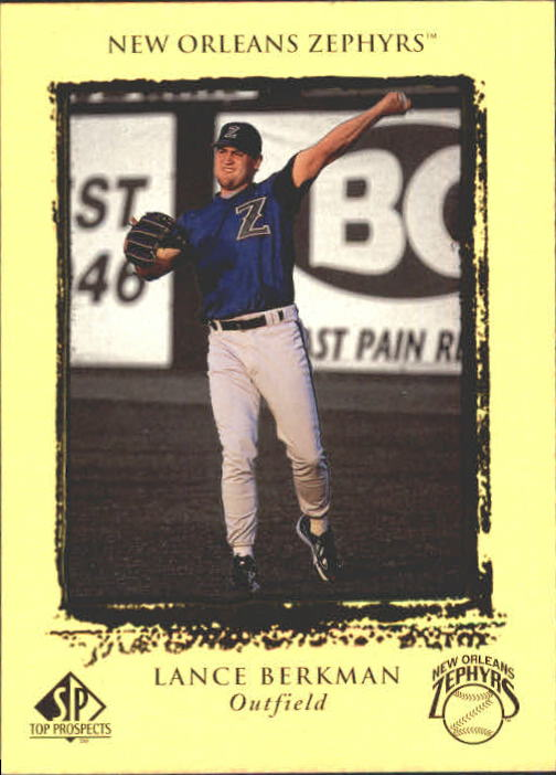 1999 SP Top Prospects #18 Lance Berkman
