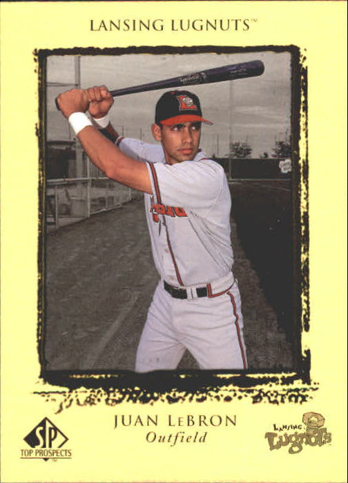 1999 SP Top Prospects #23 Juan LeBron