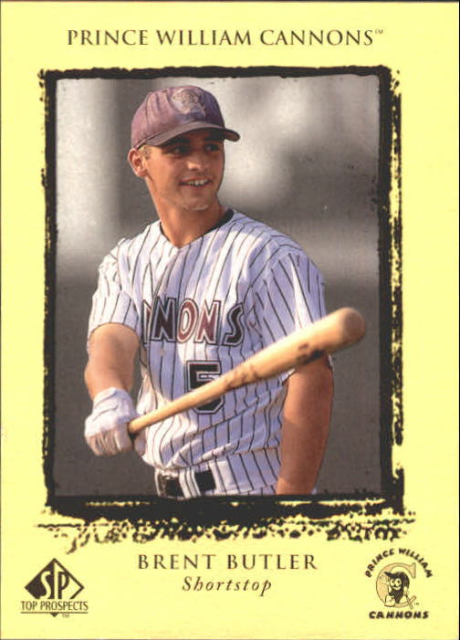 1999 SP Top Prospects #24 Brent Butler