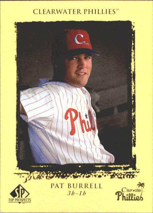 1999 SP Top Prospects #45 Pat Burrell