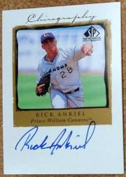 1999 SP Top Prospects Chirography #RIA Rick Ankiel
