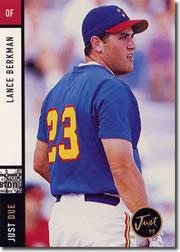 1999 Just Due #4 Lance Berkman