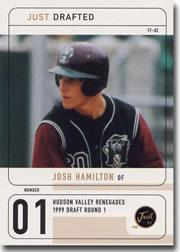 1999 Just Drafted #5 Josh Hamilton