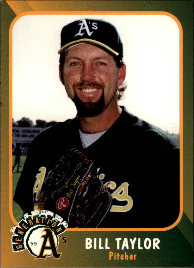 1999 A's Plumbers Union #11 Bill Taylor