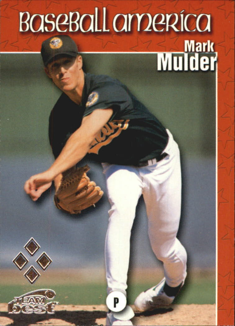 1999 Baseball America Diamond Best #70 Mark Mulder