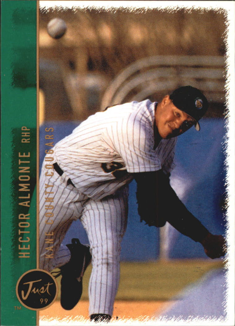 1999 Just #1 Hector Almonte