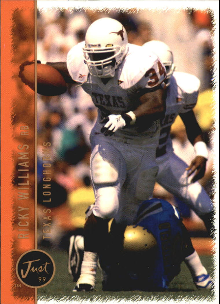1999 Just #49 Ricky Williams FB