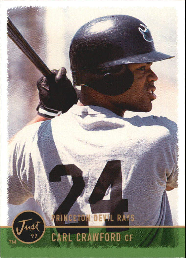 1999 Just #72 Carl Crawford