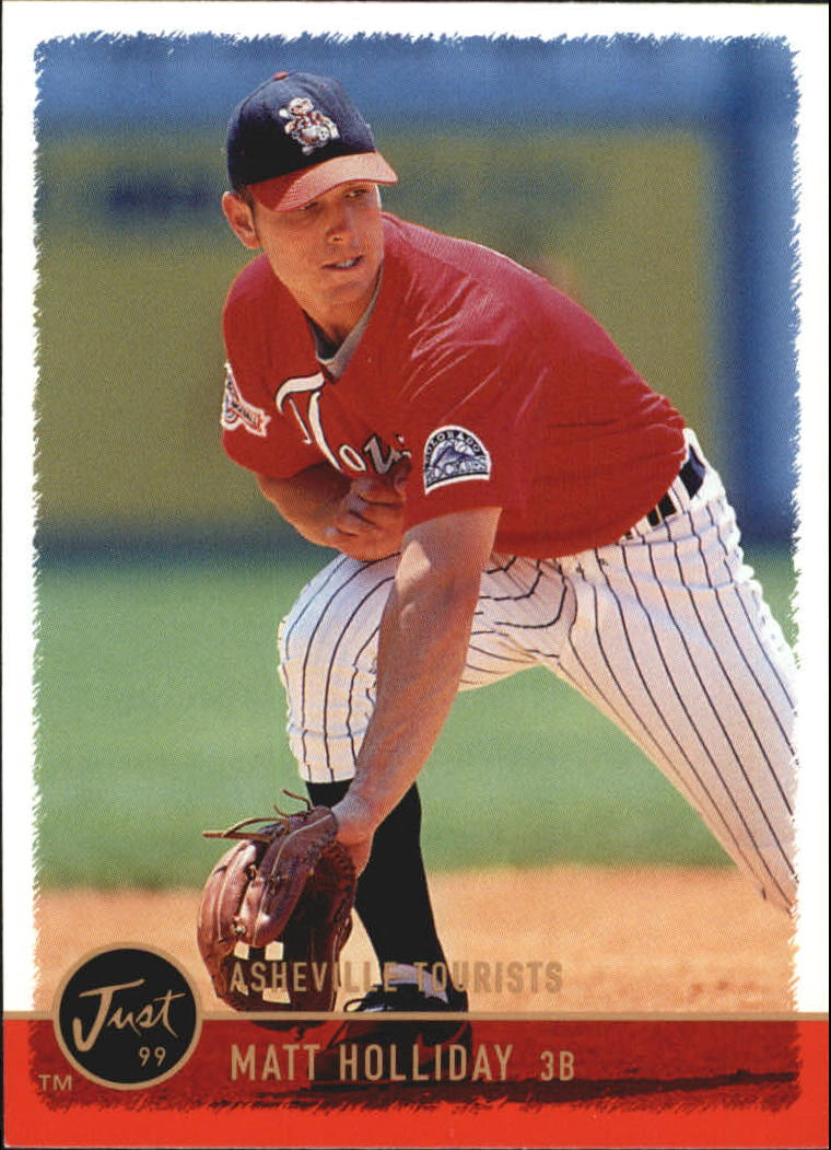 1999 Just #99 Matt Holliday