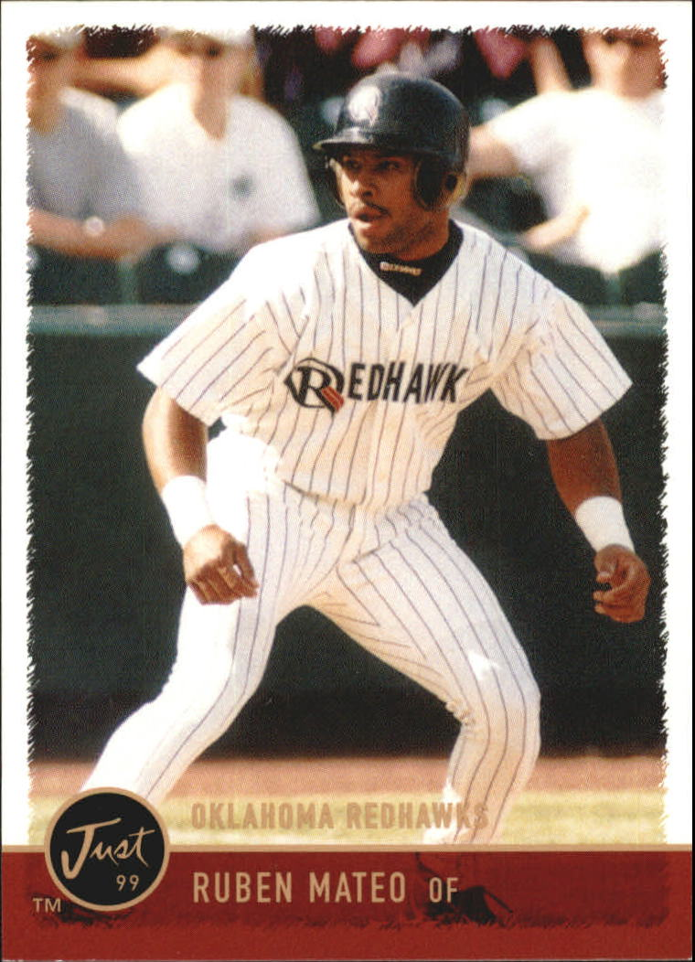 1999 Just #114 Ruben Mateo
