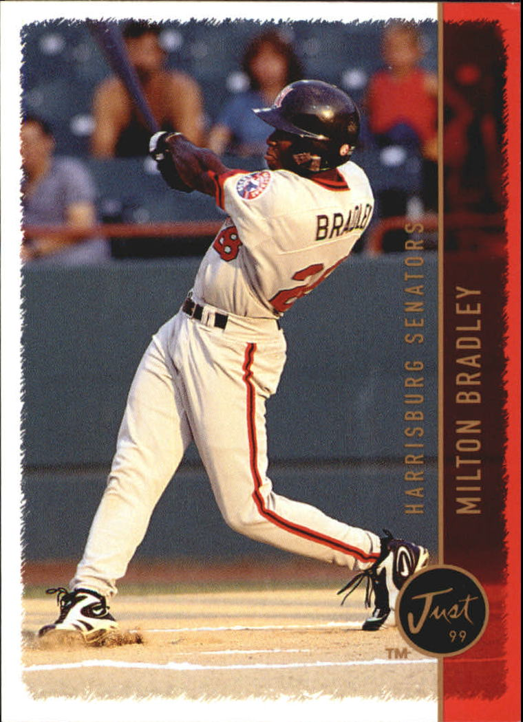 1999 Just #160 Milton Bradley