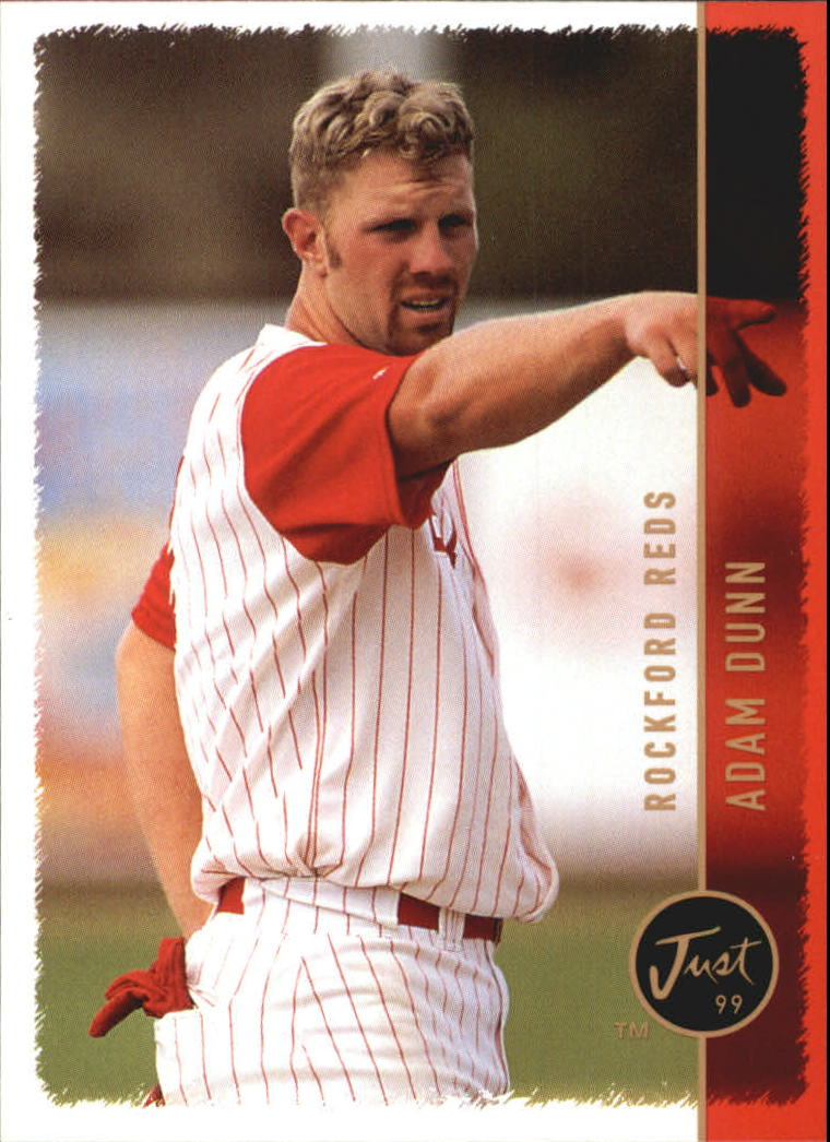 1999 Just #174 Adam Dunn
