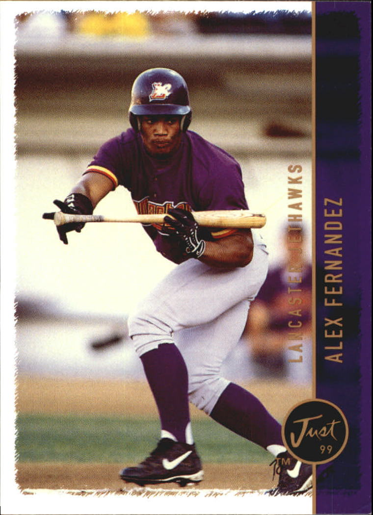 1999 Just #176 Alex Fernandez OF