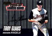 1999 Bowman's Best Rookie Locker Room Autographs #RA3 Troy Glaus