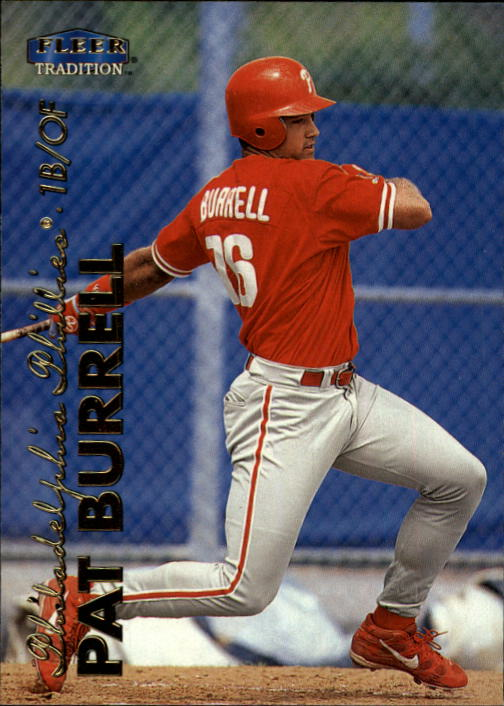 1999 Fleer Tradition Update #U3 Pat Burrell RC