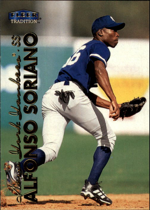 1999 Fleer Tradition Update #U5 Alfonso Soriano RC