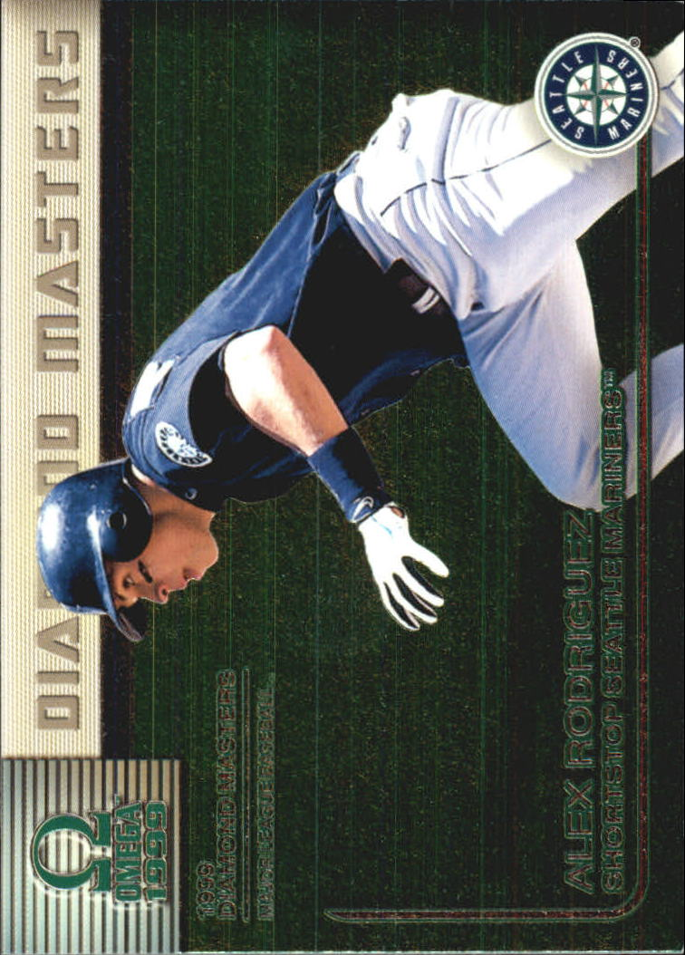 1999 Pacific Omega Diamond Masters #31 Alex Rodriguez