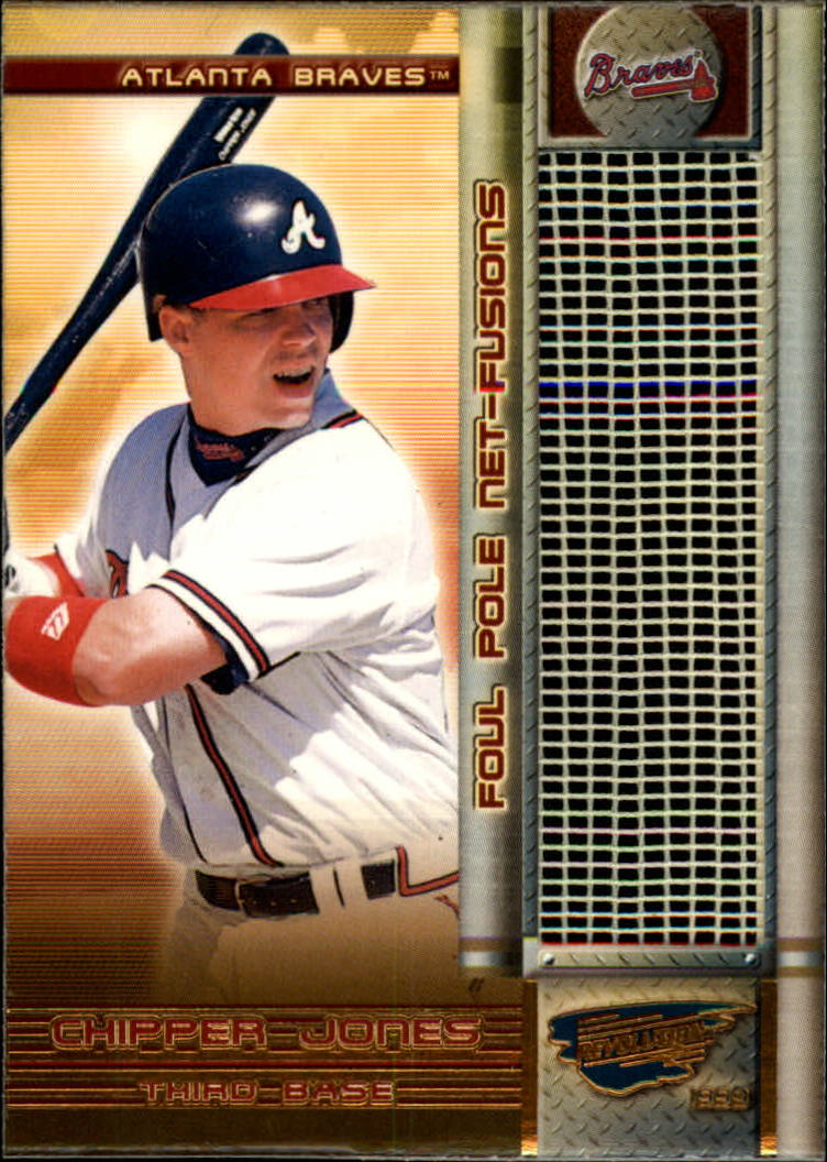1999 Revolution Foul Pole #1 Chipper Jones