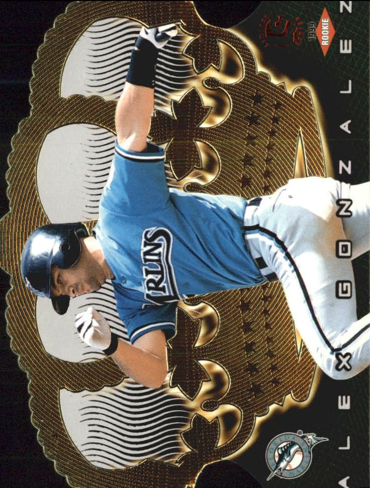 1999 Crown Royale Limited #58 Alex Gonzalez