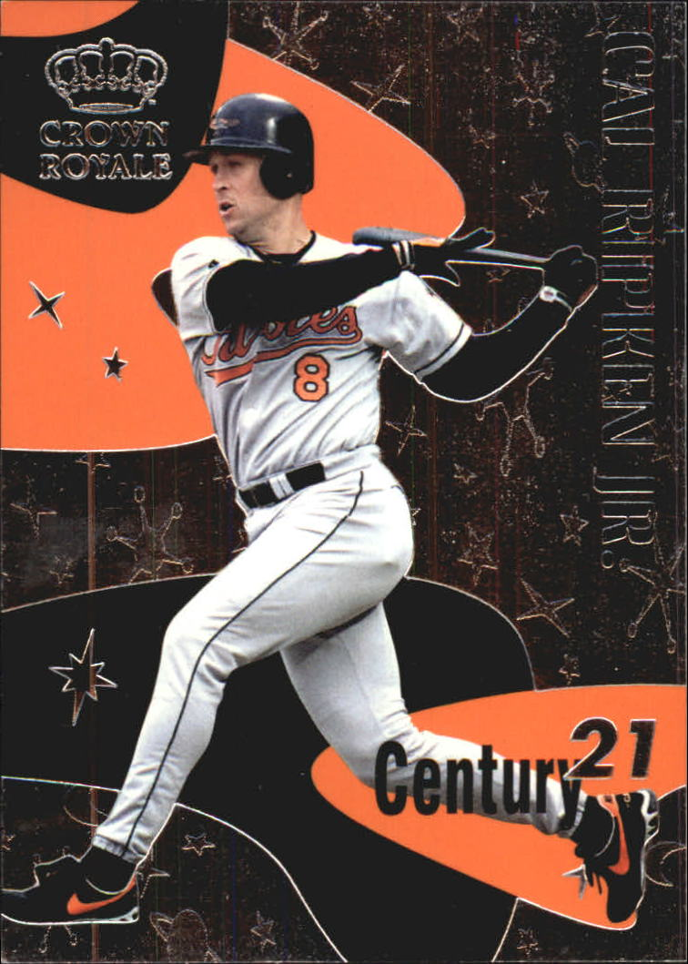 1999 Crown Royale Century 21 #1 Cal Ripken