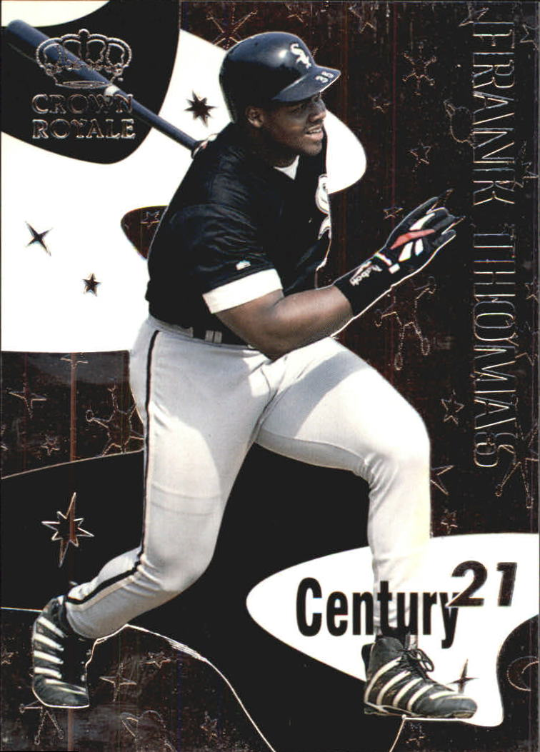 1999 Crown Royale Century 21 #4 Frank Thomas