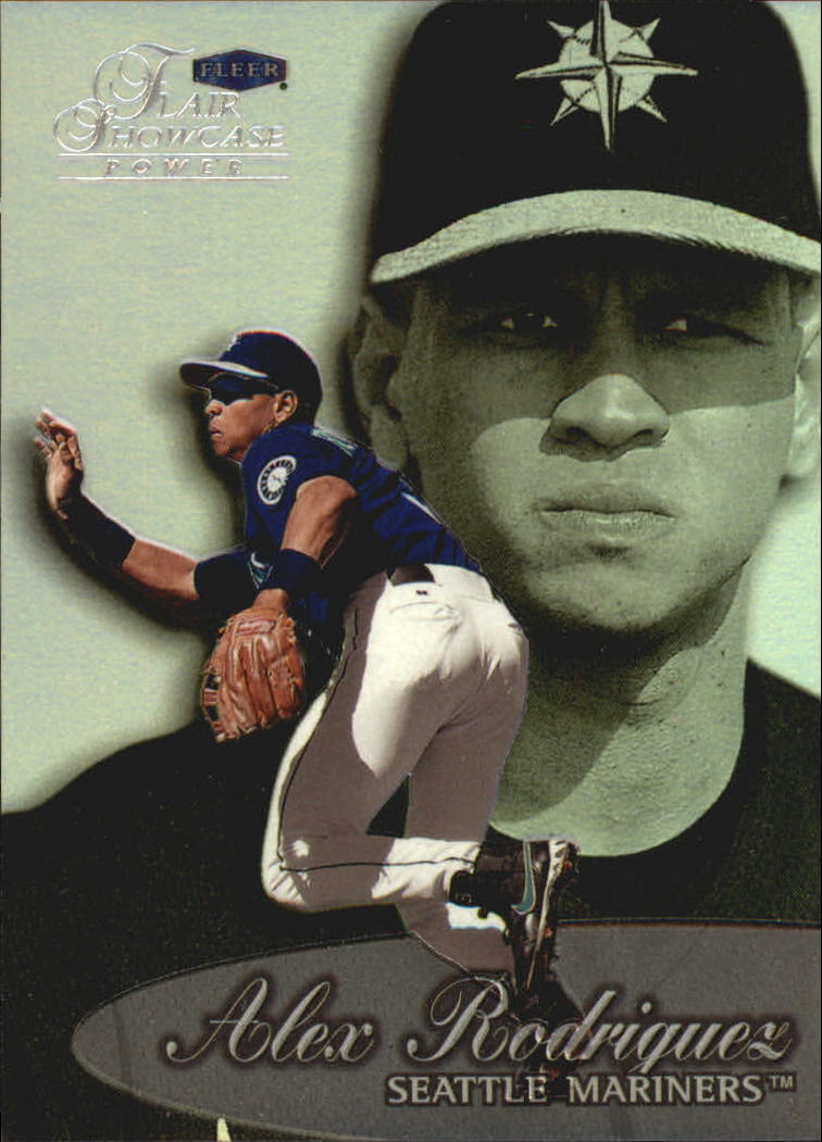 1999 Flair Showcase Row 3 #14 Alex Rodriguez