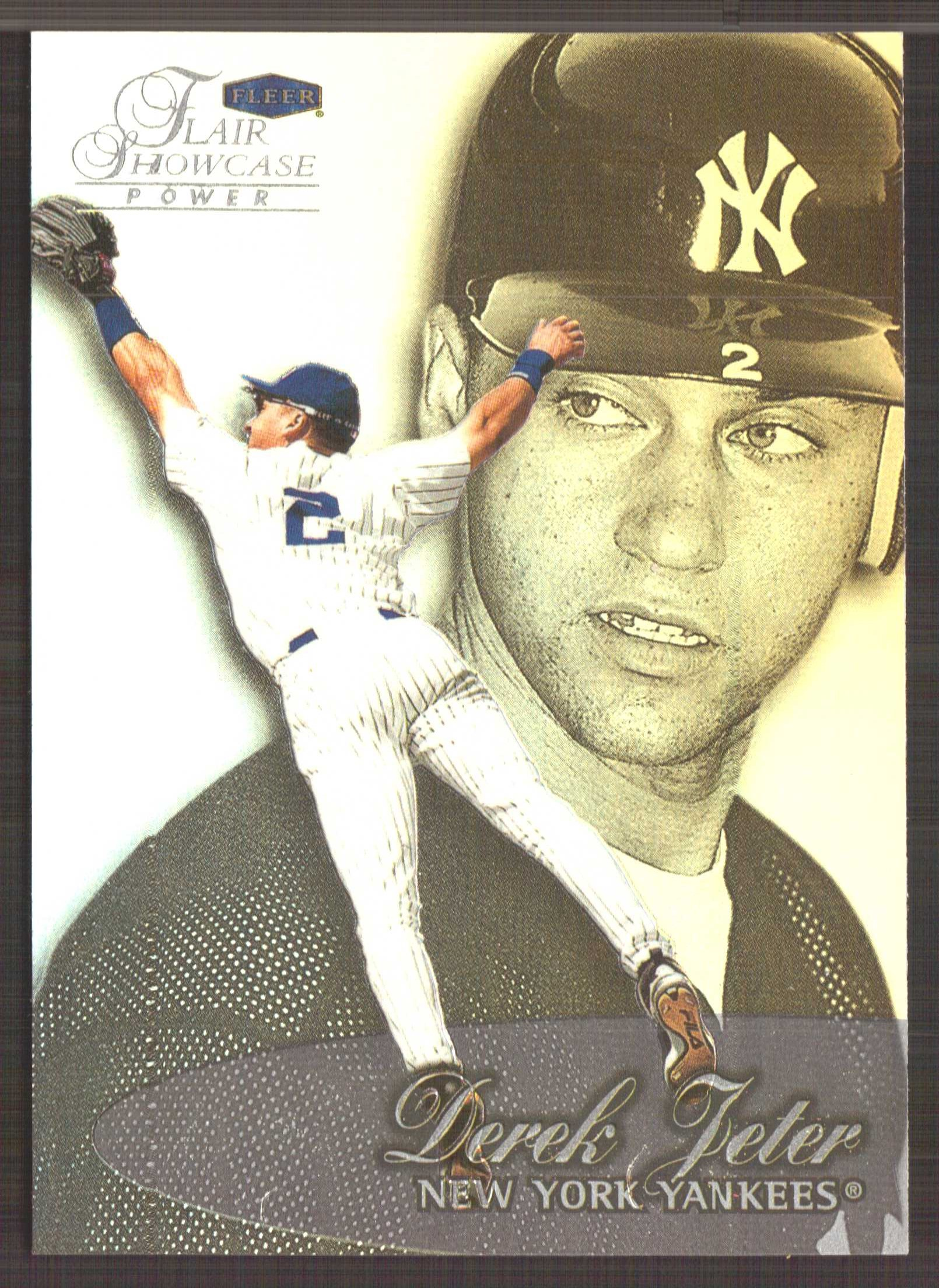 1999 Flair Showcase Row 3 #22 Derek Jeter