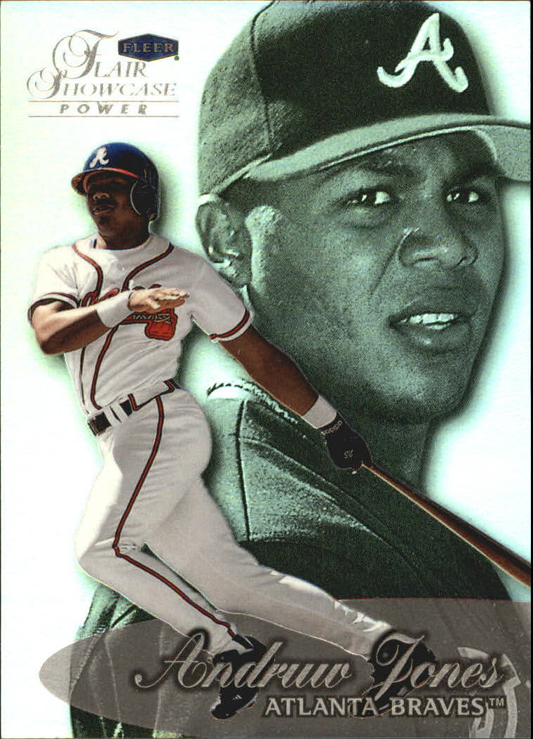 1999 Flair Showcase Row 3 #44 Andruw Jones