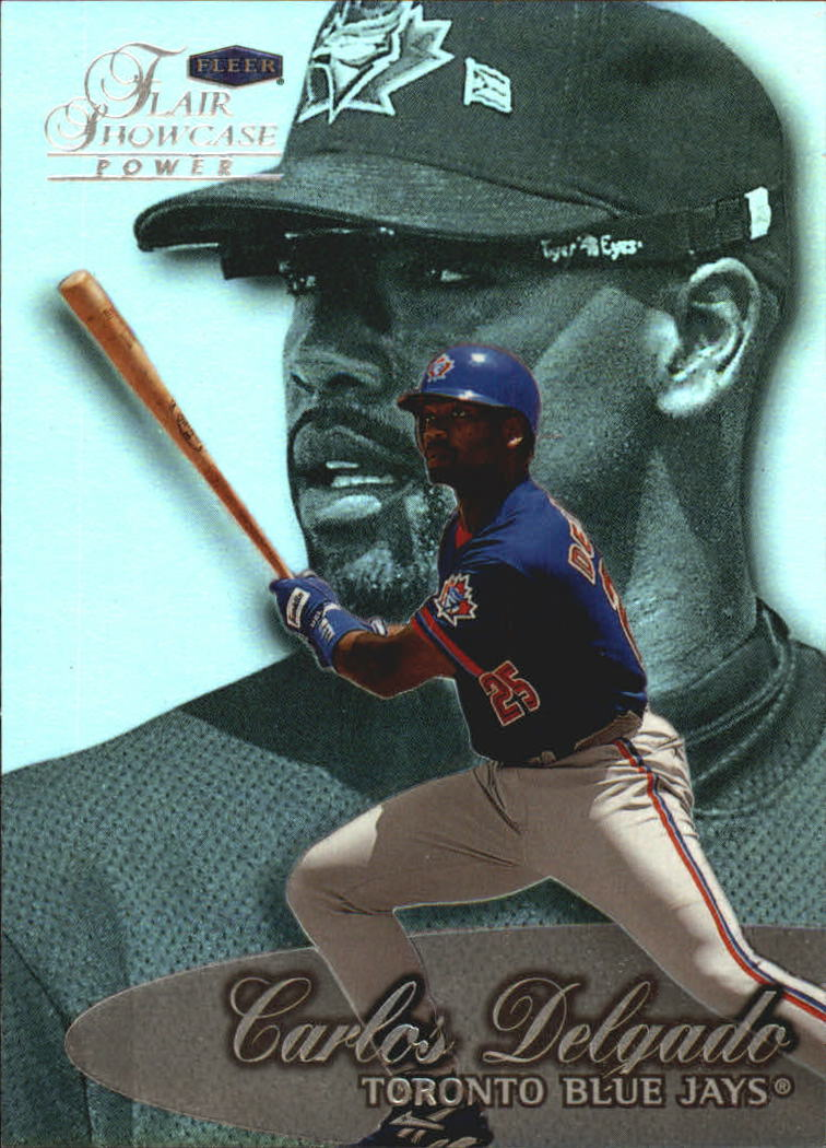 1999 Flair Showcase Row 3 #45 Carlos Delgado