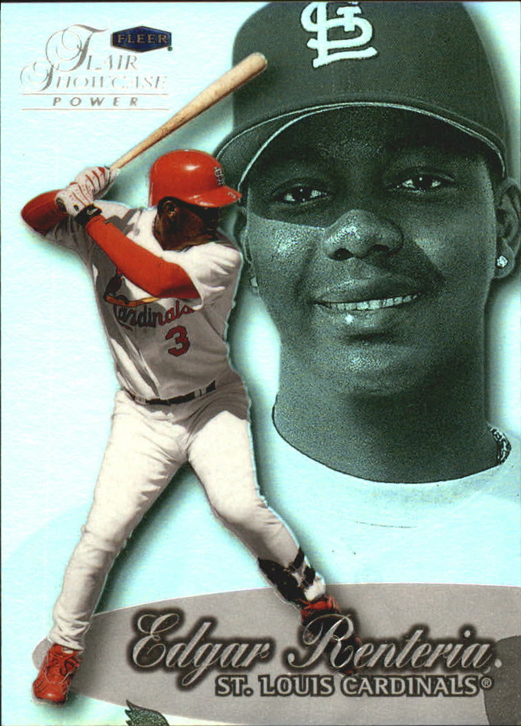 1999 Flair Showcase Row 3 #91 Edgar Renteria