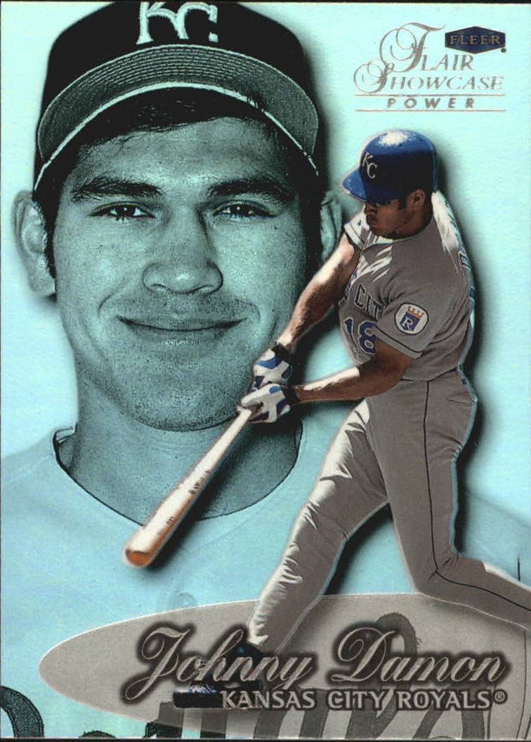 1999 Flair Showcase Row 3 #132 Johnny Damon