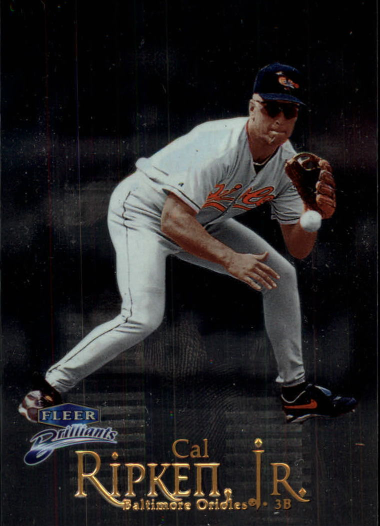 1999 Fleer Brilliants #8 Cal Ripken