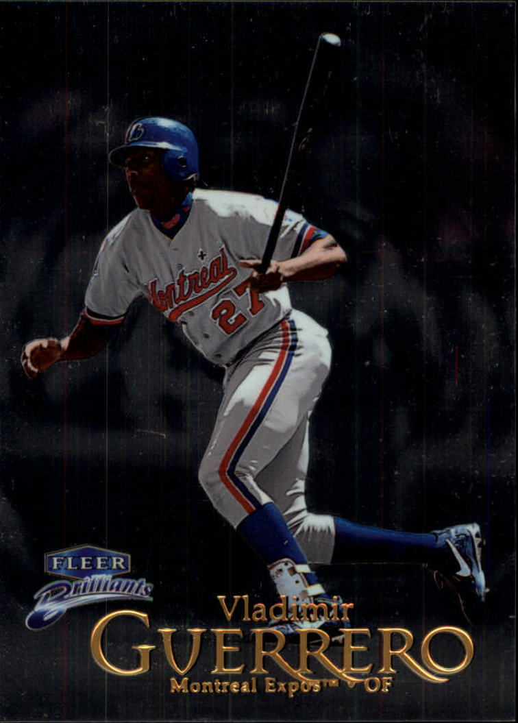 1999 Fleer Brilliants #9 Vladimir Guerrero